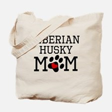 Siberian Husky Mom Tote Bag
