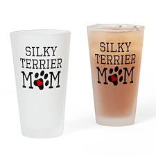 Silky Terrier Mom Drinking Glass