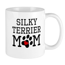 Silky Terrier Mom Mugs