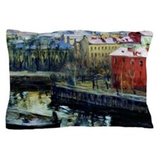 Fine art painting, Leningrad Pillow Case