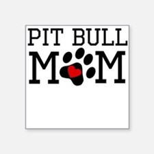 Pit Bull Mom Sticker