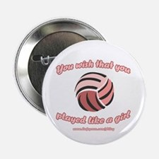 Volley Girl Button