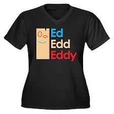 Ed, Edd, n Eddy Plank Plus Size T-Shirt