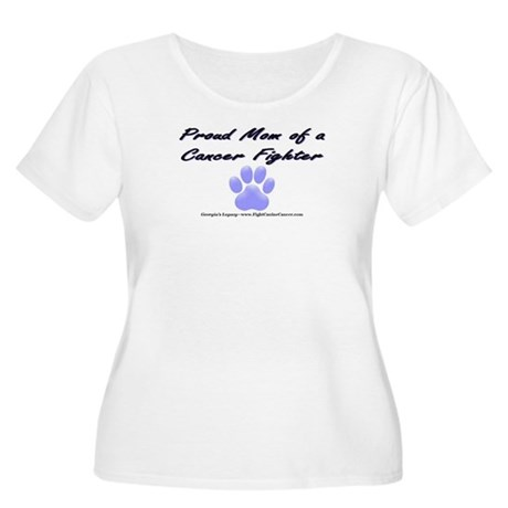 Dog Mom T-shirt - Women's Plus Size