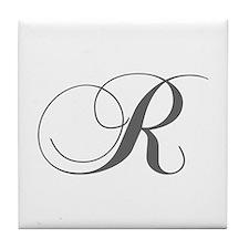 R-cho gray Tile Coaster