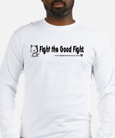 """Fight the Good Fight"" Long Sleeve T-Shi"