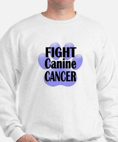Fight Canine Cancer Sweatshirt