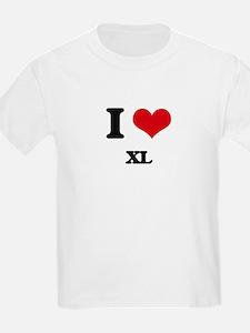 I love Xl T-Shirt