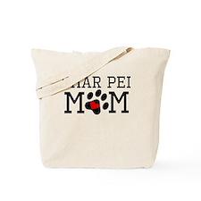Shar Pei Mom Tote Bag