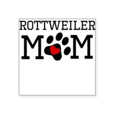 Rottweiler Mom Sticker