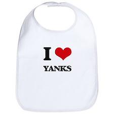 I love Yanks Bib
