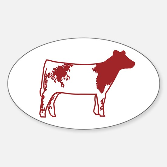 Shorthorns Oval Decal