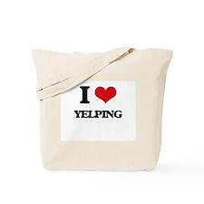 I love Yelping Tote Bag