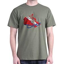 SCUBA Countries: Canada T-Shirt