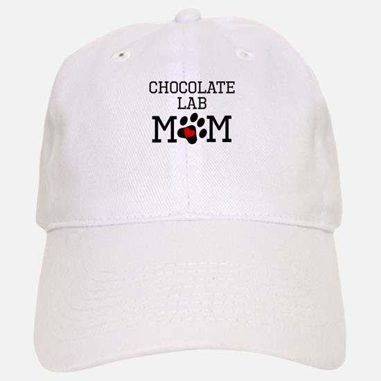 Chocolate Lab Mom Baseball Baseball Baseball Cap