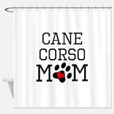 Cane Corso Mom Shower Curtain