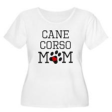 Cane Corso Mom Plus Size T-Shirt