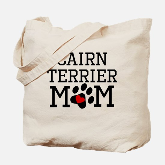 Cairn Terrier Mom Tote Bag