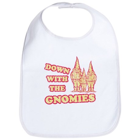 Down With the Gnomies Bib