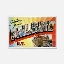 Albany New York Greetings Rectangle Magnet