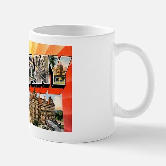 Albany New York Greetings Mug