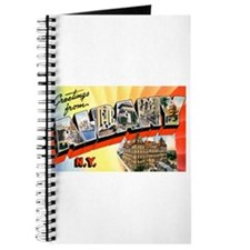 Albany New York Greetings Journal