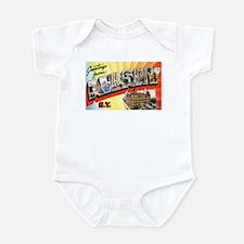 Albany New York Greetings Infant Bodysuit