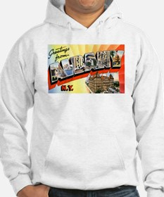 Albany New York Greetings (Front) Hoodie