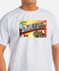 Albany New York Greetings (Front) T-Shirt