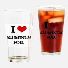 aluminum foil Drinking Glass