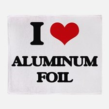 aluminum foil Throw Blanket