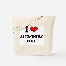 aluminum foil Tote Bag