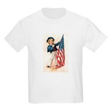 Patriotic Sailor Girl T-Shirt