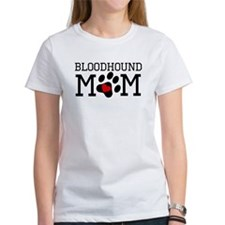 Bloodhound Mom T-Shirt