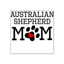 Australian Shepherd Mom Sticker
