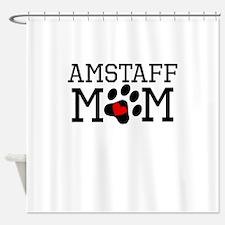 AmStaff Mom Shower Curtain