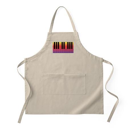Fiery Piano BBQ Apron