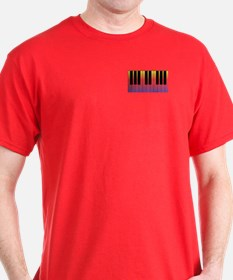 Fiery Piano T-Shirt