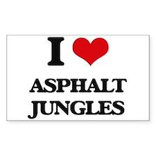 asphalt jungles Decal