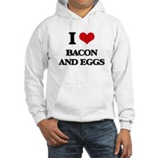 bacon and eggs Hoodie