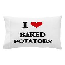 baked potatoes Pillow Case
