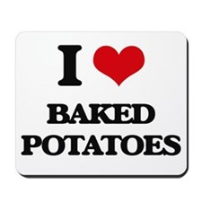 baked potatoes Mousepad