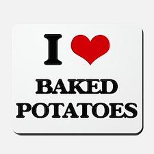 baked potatoes Mousepad