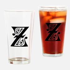 Z-pre black Drinking Glass
