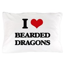 bearded dragons Pillow Case