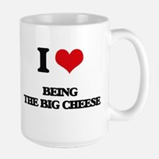 being the big cheese Mugs