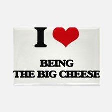 being the big cheese Magnets