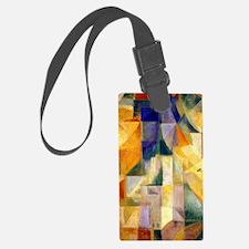 Delaunay - Simultaneous Window Luggage Tag