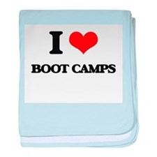 boot camps baby blanket