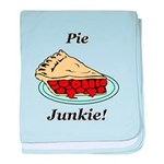 Pie Junkie baby blanket